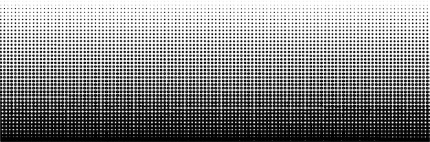 Abstract dark halftone dot background  template