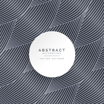 抽象的な暗い波の線のパターンの背景