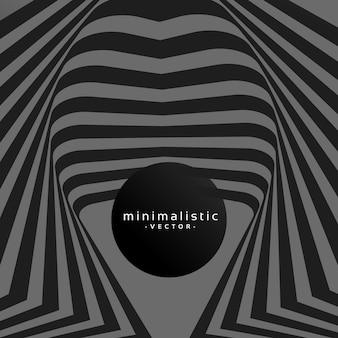 Abstract dark minimalistic background