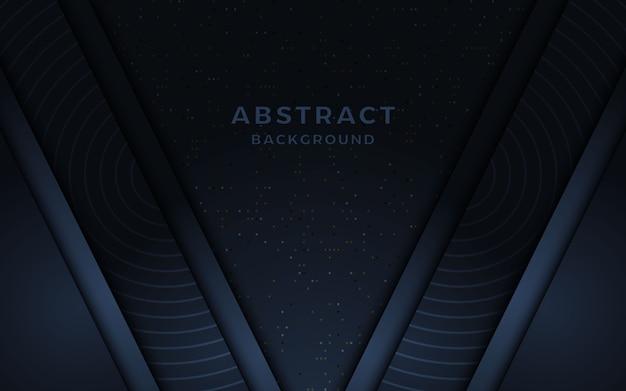 Абстрактный темно-синий фон.