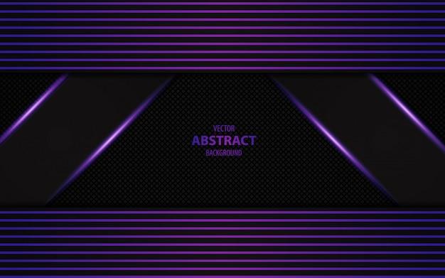 Abstract dark purple overlap background