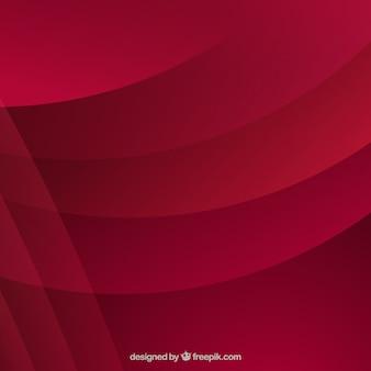 Абстрактный темно-красный фон с волнами