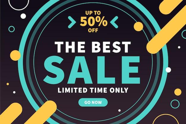 Abstract dark sales background