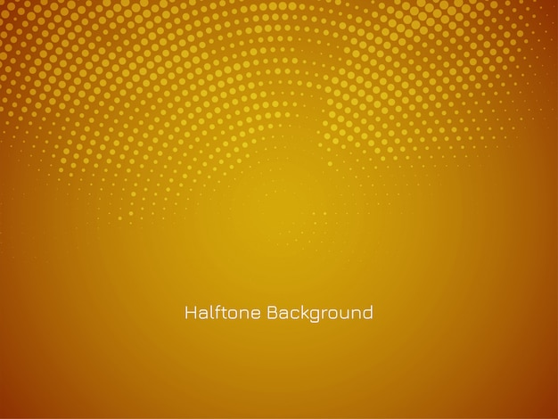Abstract decorative halftone design background