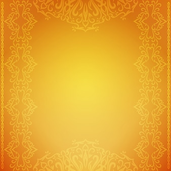 Abstract decorative luxury yellow background