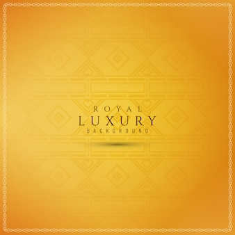 Abstract decorative luxury yellow