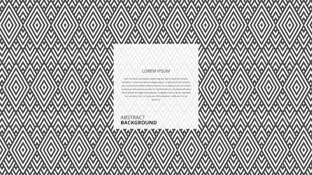 Абстрактные декоративные параллелограмм формы полосы шаблон