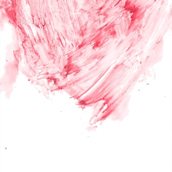 Abstract decorative red watercolor background