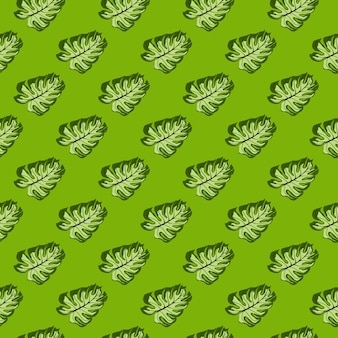 Абстрактный декоративный бесшовный образец с орнаментом монстера джунглей. тропический фон. декоративный фон для тканевого дизайна, текстильный принт, упаковка, обложка. векторная иллюстрация.