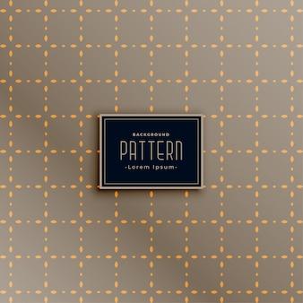 Abstract decorative square pattern design