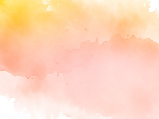 Abstract decorative watercolor background
