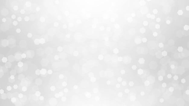 休日のイベントの抽象的な焦点がぼけた白い背景のベクトル図