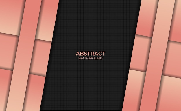 Abstract design background gradient orange color style