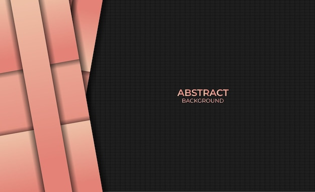 Abstract design background style gradient orange color