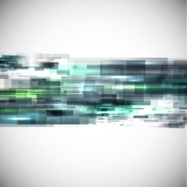 Абстрактный дизайн фона с футуристическим ощущением