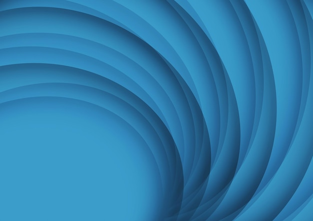 Abstract design background with a circular design