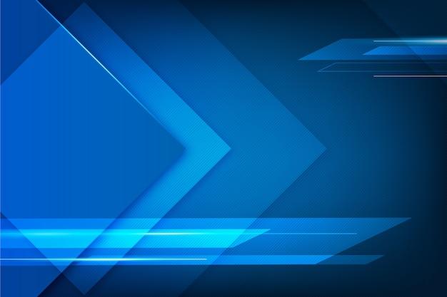 抽象的なデザインの青い未来的な背景