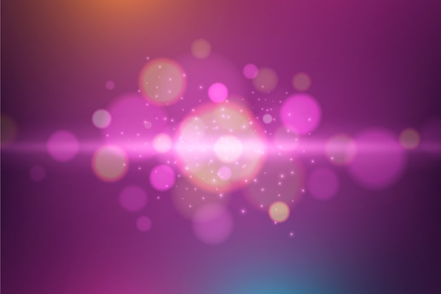 Abstract design for bokeh background
