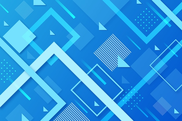 Abstract design classic blue background