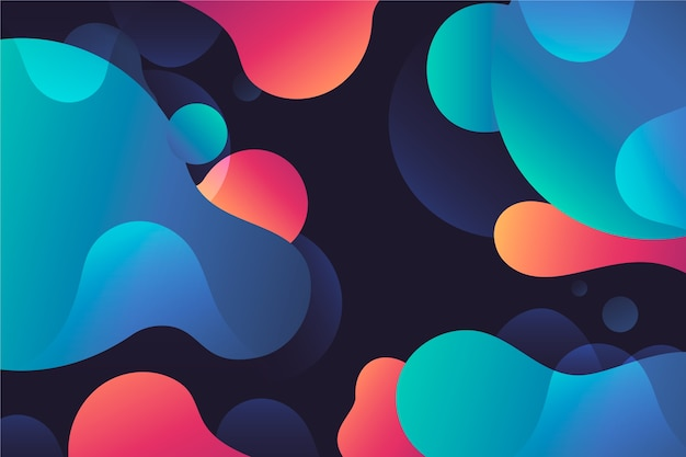 Abstract design for colorful background