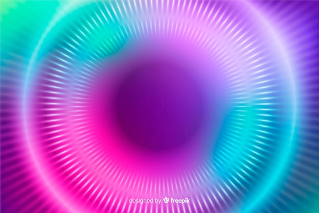 Abstract design colorful circles background