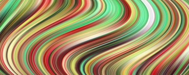 カラフルな波の抽象的なデザインの創造性の背景