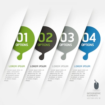 Abstract design element template can be used for workflow layout, diagram, number options, step up options, web design, infographics template