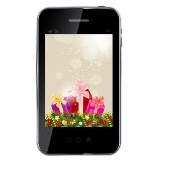 Абстрактный дизайн телефона для различных бизнес-дизайн вектор плохо