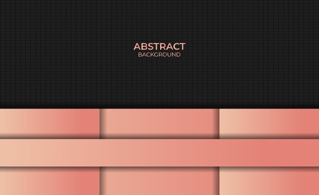 Abstract design style gradient orange color background