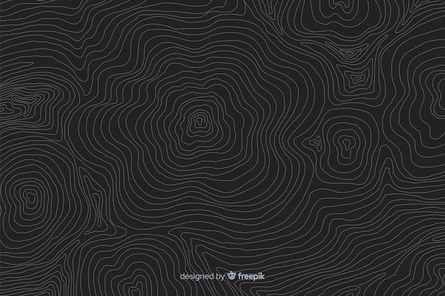 Abstract design of topographic lines background