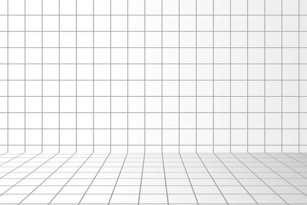 正方形のパターンのイラストと抽象的なデザイン
