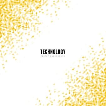抽象的な斜めの幾何学的な黄色の正方形