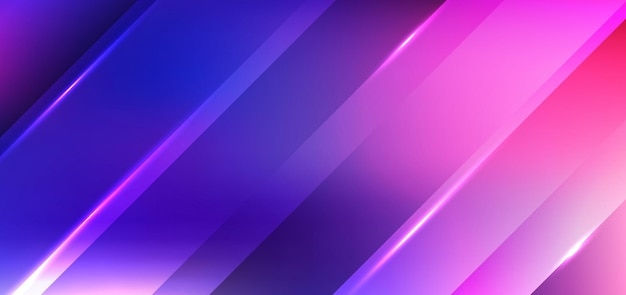 Abstract diagonal stripes with light blue and pink background