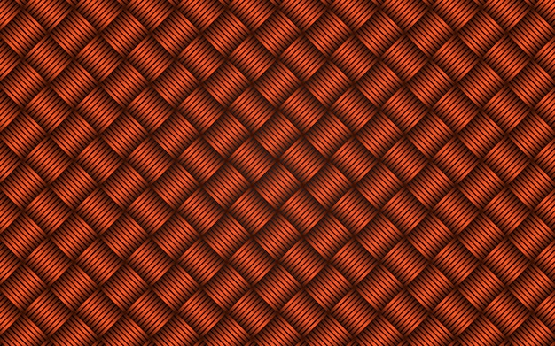 Abstract diagonal strips orange seamless pattern background