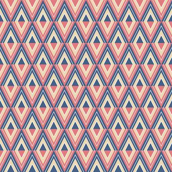 Abstract diamond pattern