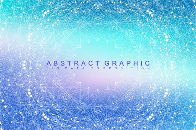 Abstract digital data background