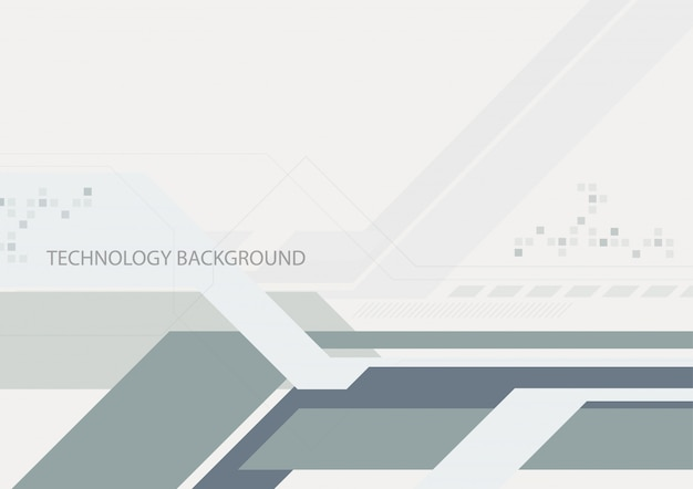 Abstract digital flat geometric background