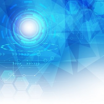 Abstract digital hitech technology background