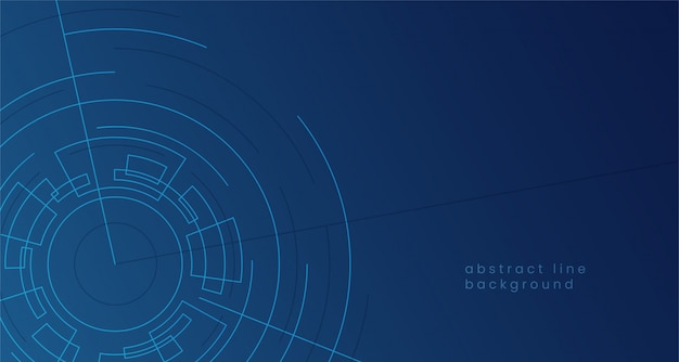Abstract digital vortex geometric circle illustration for cyberspace portal gate concept background.