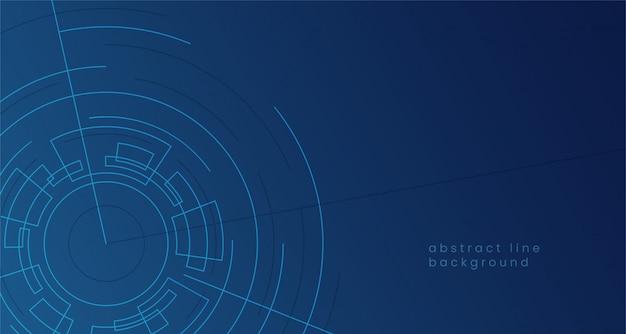 사이버 공간 포털 게이트 개념 배경에 대 한 추상 디지털 소용돌이 형상 원형 그림.