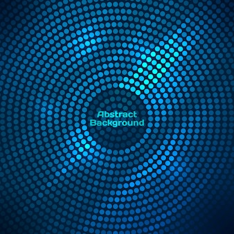 Abstract disco background with halftone