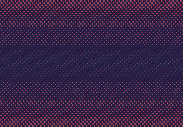 Abstract dot halftone design of contrast tech background.