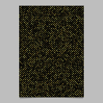 Abstract dot pattern poster design