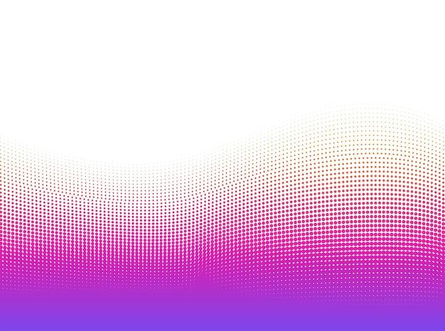 抽象的なドットの鮮やかなグラデーションは、背景をベクトルします。ハーフトーンパターンデザイン3