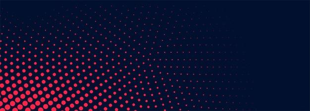 抽象的な点線のバナーの背景