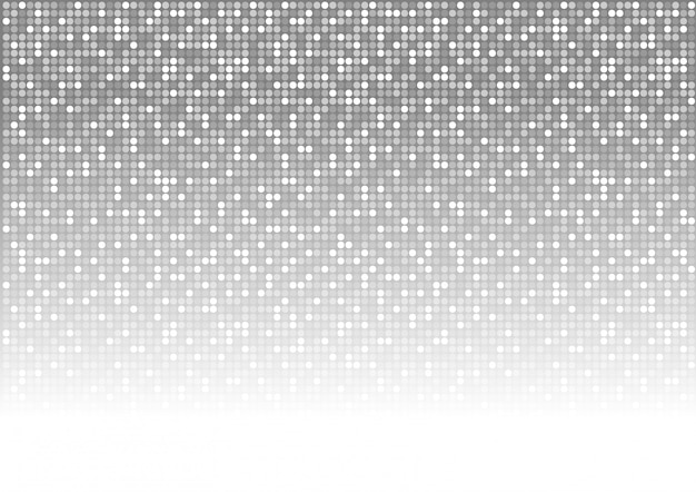 Abstract dotted mosaic background