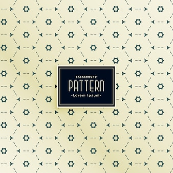 Abstract dotten geometric hexagonal seamless pattern design