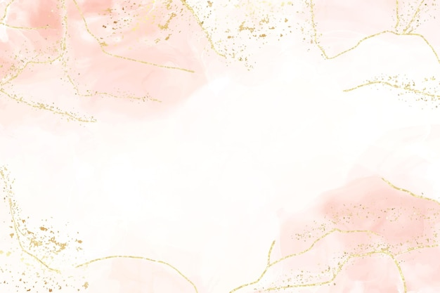 Abstract dusty blush liquid watercolor background