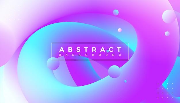 Абстрактная динамическая предпосылка влияния потока 3d.