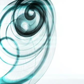 抽象的なダイナミックな背景、未来的な波状のイラスト